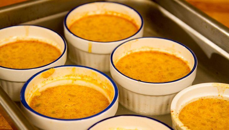 Crème caramel à la citrouille