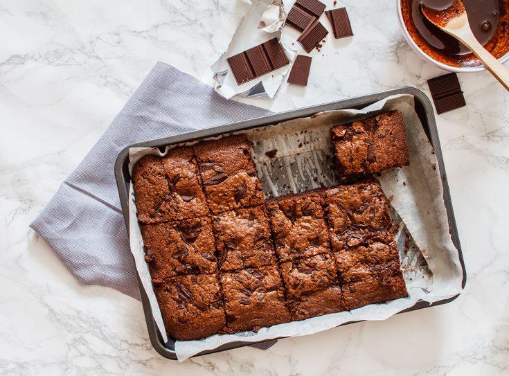 Brownies aux fèves blanches de Cat Lefebvre