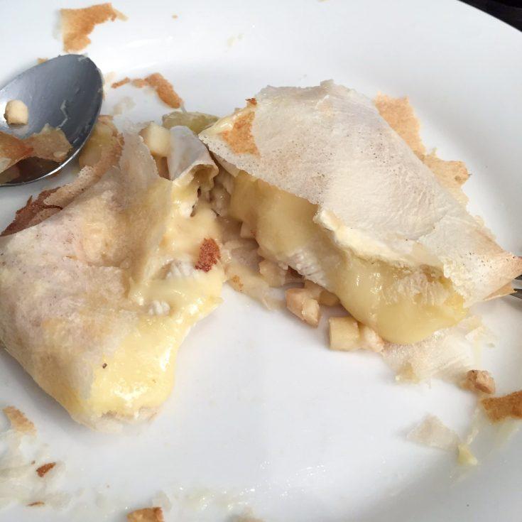 Bonbons croustillants aux pommes et camembert selon MrCoco