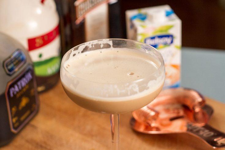 Martini dessert selon JP Gauthier
