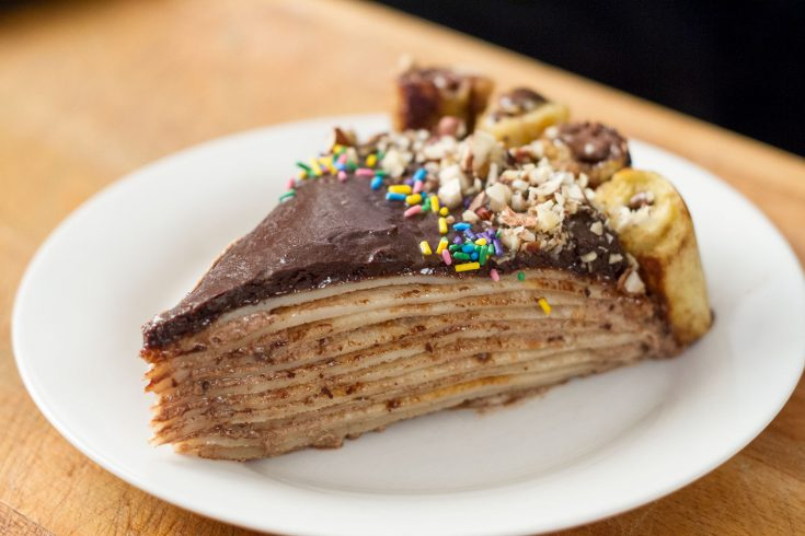 Gâteau aux milles crêpes