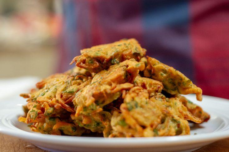 Pakoras aux légumes (petits beignets indiens) selon ma coloc Jess