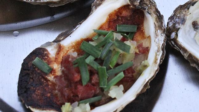 Huîtres à la montréalaise